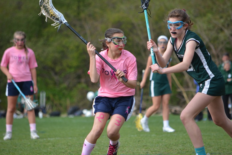 Spring Lacrosse Breast Cancer Awareness Games