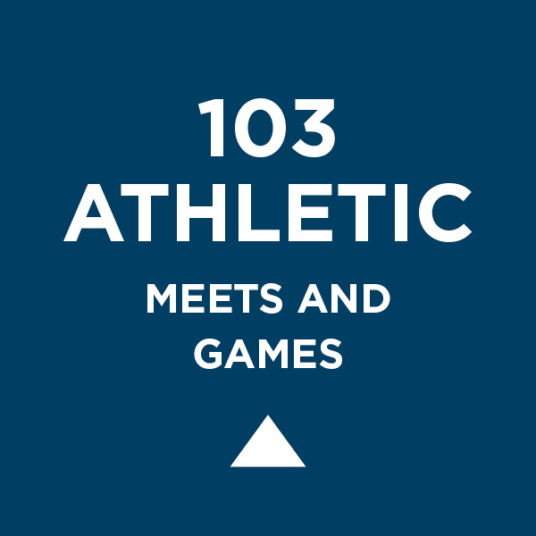 103 Athletic Meets and Games
