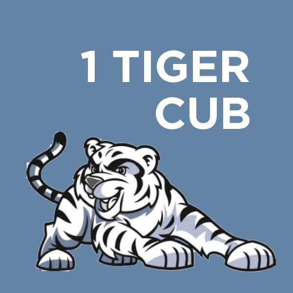 1 Tiger Cub