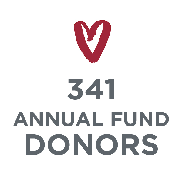 341 Annual Fund Donors