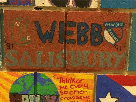 Webb Thompson's tile from New Canaan Country School